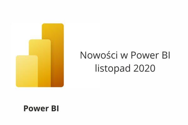 Nowości Power BI Listopad